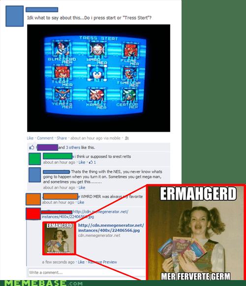 derp,Ermahgerd,megaman,video games