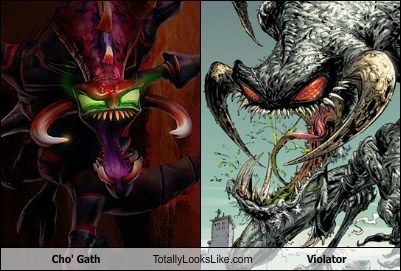 Cho' Gath (League of Legends) Totally Looks Like Violator (Spawn)