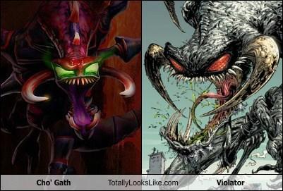 cho-gath,comic,funny,league of legends,Spawn,TLL,violator