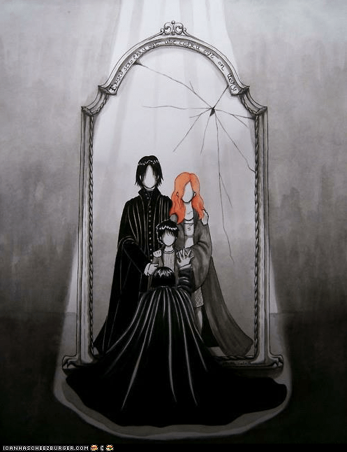 Snape's Mirror of Erised