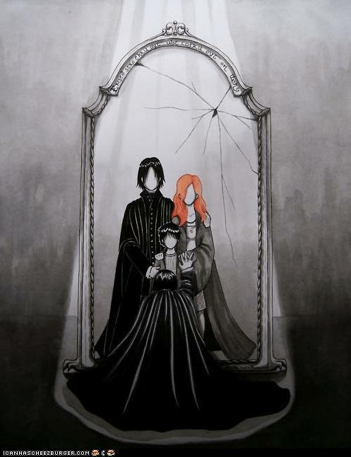 Snape's Mirror of Erised