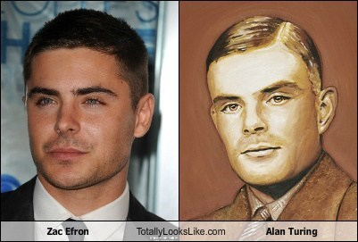 Zac Efron Totally Looks Like Alan Turing