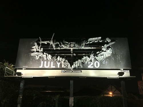 The Dark Knight Rises Billboard of the Day