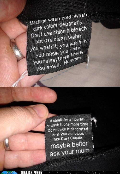 clothes,clothes tag,laundry,shirt,shirt tag,T.Shirt,washing