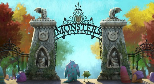 Monsters University Concept Art of the Day