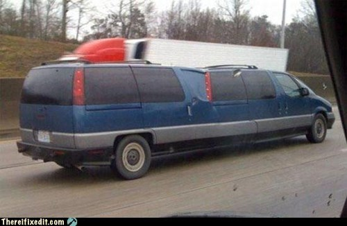 Did Someone Order a Stretch Limo?