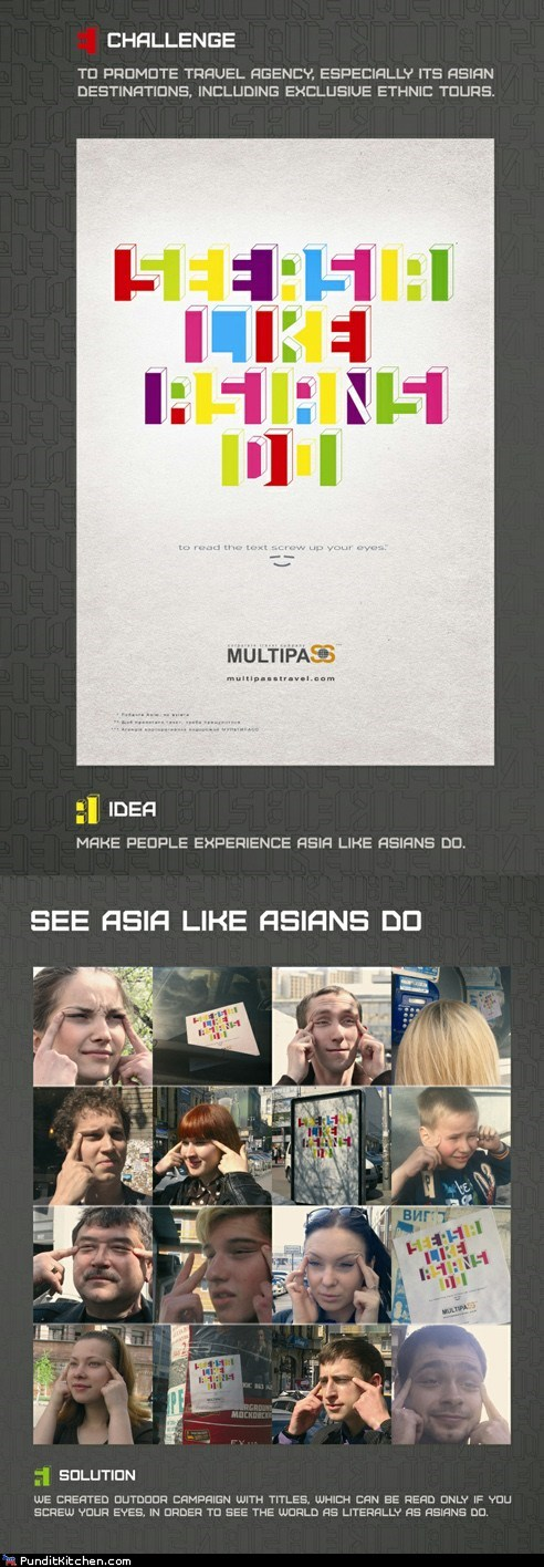 See Asia Like Racists Do