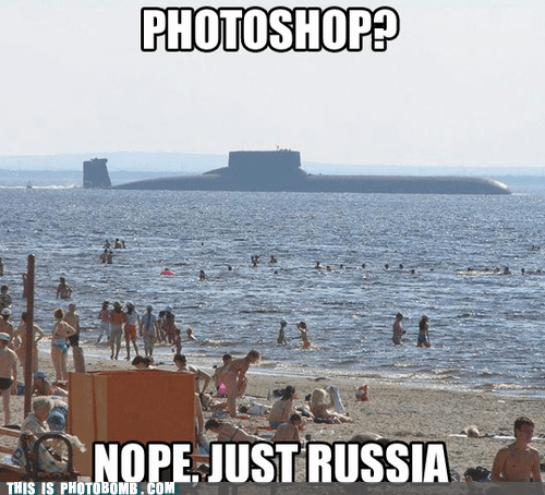 awesome,beach,best of week,literal,photoshop,russia,submarine