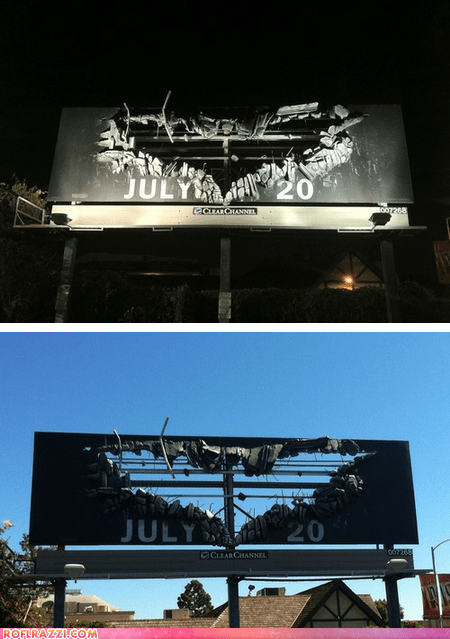 "Billboard Ads For ""The Dark Knight Rises"""