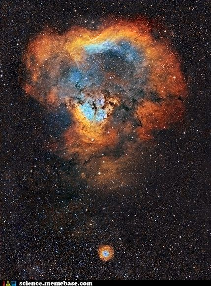 The Question Mark Nebula
