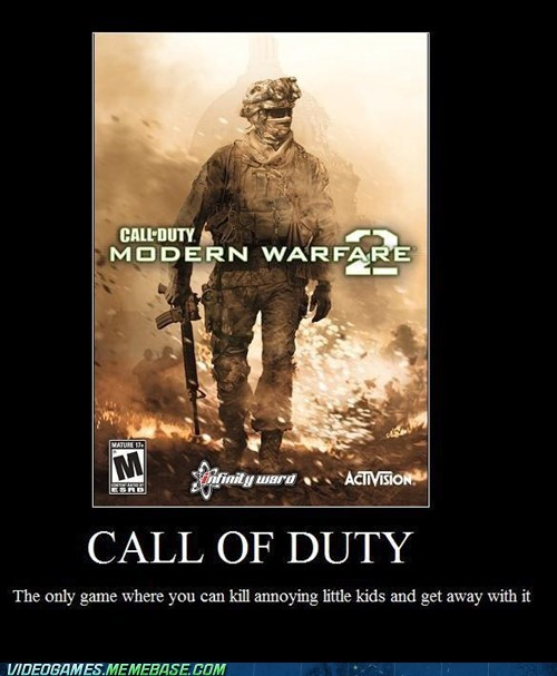 Why People Play Call of Duty
