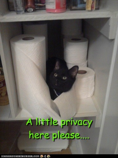 A little privacy here please....