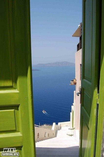 WINcation: Nice View From Your Door, Eh?