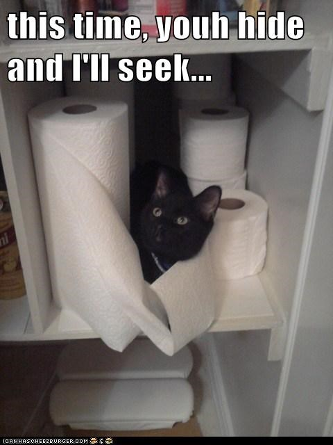 this time, youh hide and I'll seek...