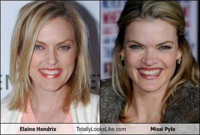 Elaine Hendrix Totally Looks Like Missi Pyle