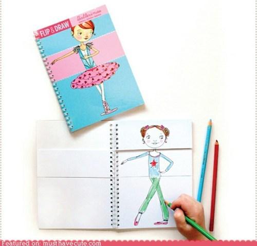Flip & Draw Books