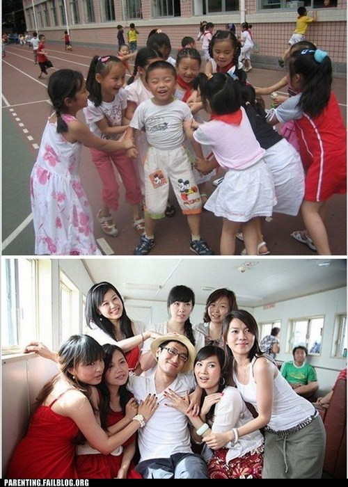 Before And After,brother and sisters,lucky guy