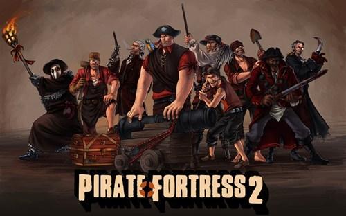 FanArt,Pirate,TF2,video games