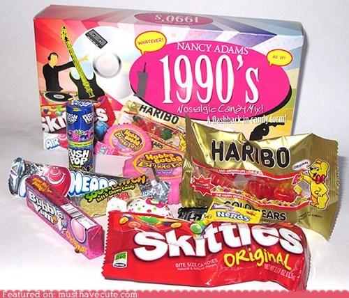 90s,candy,mix,nostalgia,selection