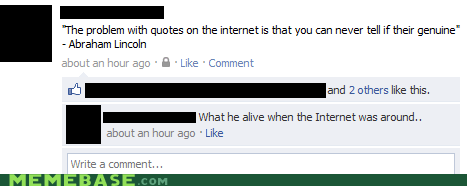 facebook,internet,lincoln,quotes