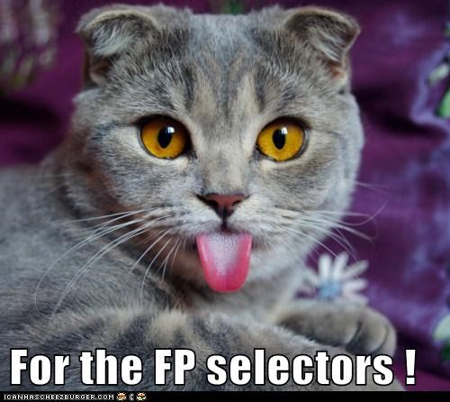 For the FP selectors !
