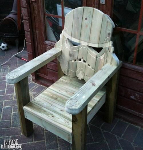 chair,design,nerdgasm,star wars,stormtrooper