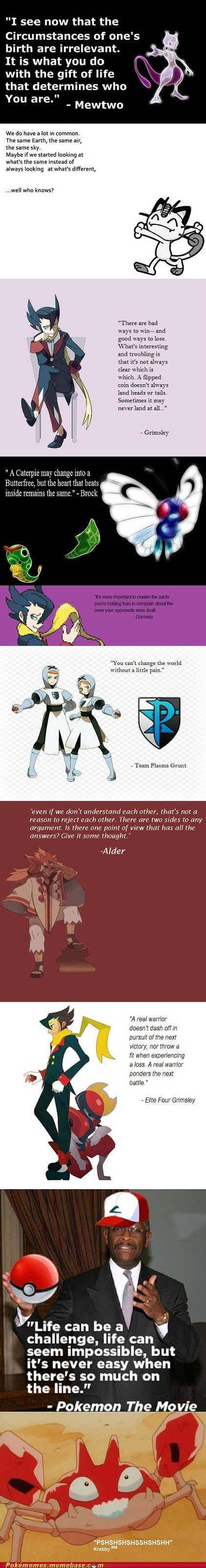 Inspirational Pokémon Quotes