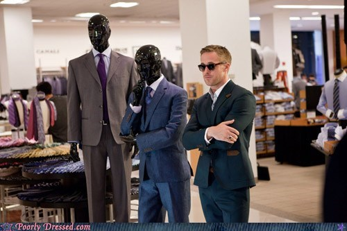 Three Handsome Mannequins