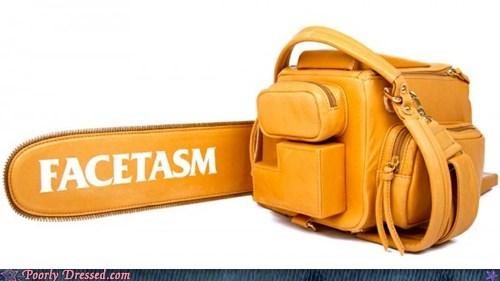 chainsaw,handbag,purse,stihl