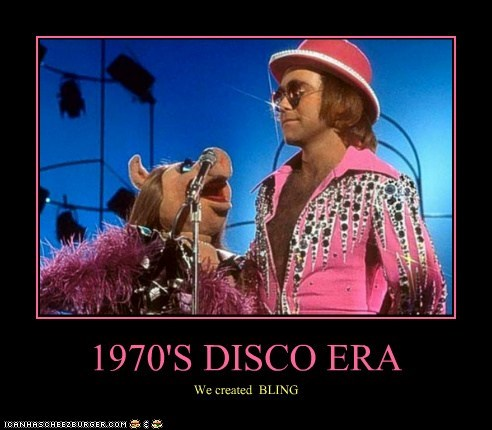 celeb,demotivational,elton john,funny,miss piggy,Music,The Muppet Show,TV