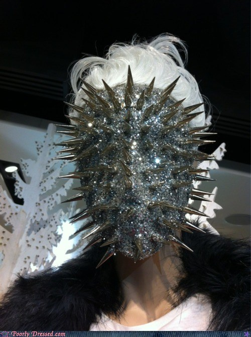 celeb,creepy,fashion,hellraiser,spikes,weird