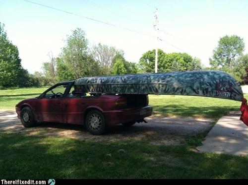 Canoe Manuevers. Canoe-vers?
