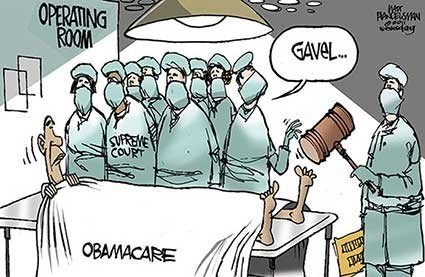 Breaking News of the Day: Supreme Court Upholds Obamacare [UPDATED]