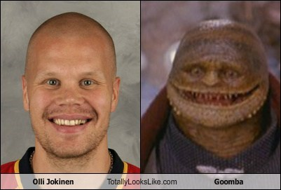 Olli Jokinen Totally Looks Like Goomba