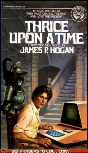WTF Sci-Fi Book Covers: Thrice Upon a Time