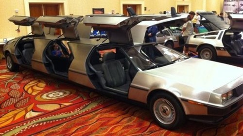 DeLorean Limousine of the Day