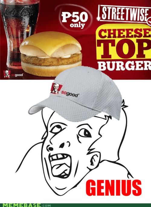 KFC's Assemble Your Own Burger Set