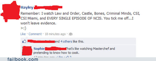 cook,cooking,evidence,law and order,television,TV