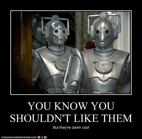 cool,cybermen,doctor who,shouldnt,upgrade