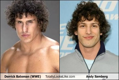 Derrick Bateman (WWE) Totally Looks Like Andy Samberg