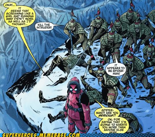 The Randomness of Deadpool
