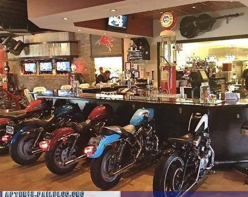 Now THIS is a Biker Bar!