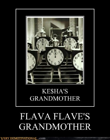 FLAVA FLAVE'S GRANDMOTHER