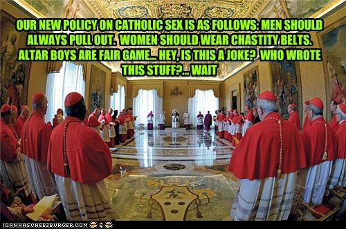Gremlins strike in the vatican...