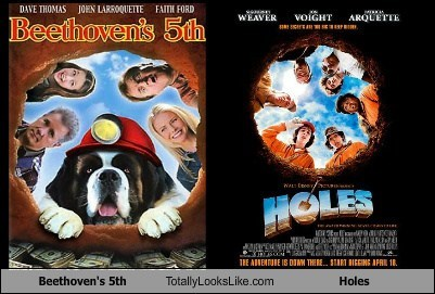 """Beethoven's 5th"" Totally Looks Like ""Holes"""
