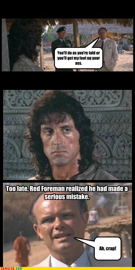 When Red Met Rambo