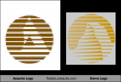Assante Logo Totally Looks Like Sierra Logo