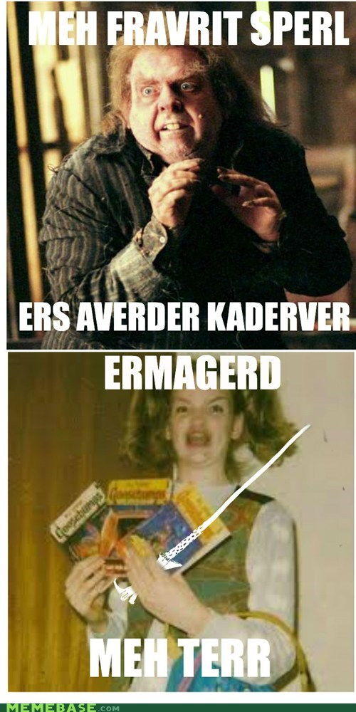 Ermahgerd Hurry Perter!