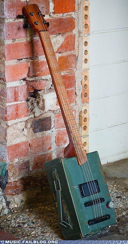 Ammunition Case Guitar