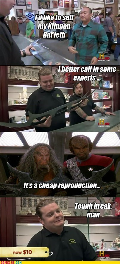 Comixed: Pawn Star's Trek: The Next Generation